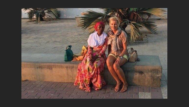 Foto: Agneses Zeltiņas eksotiskie piedzīvojumi Tanzānijā