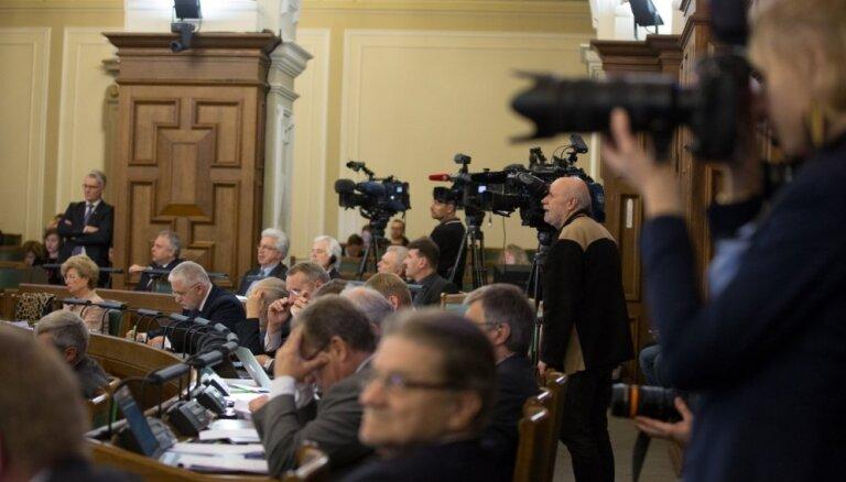 Сейм отклонил идею о сокращении числа министерств