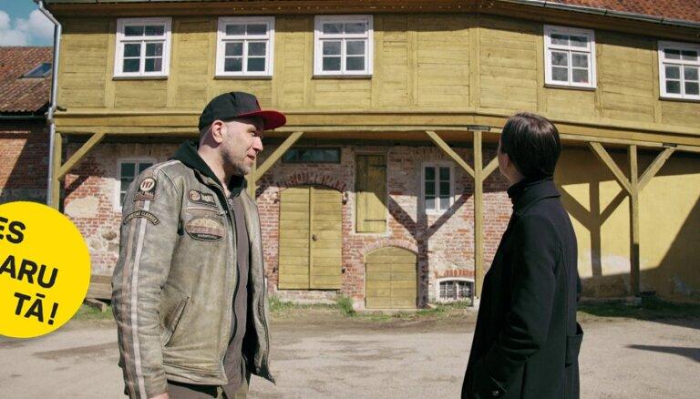 Autentiskā elpa: Arta Rozīša aizraušanās ar senu ēku 'rehabilitāciju'