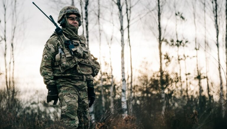 На Адажском полигоне начинаются военные учения Iron Spread 2019