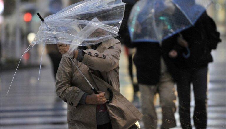 Синоптики прогнозируют новую бурю в Латвии