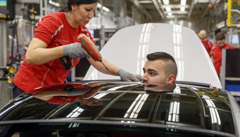 'Porsche' 'dīzeļgeitas' lietā Vācijā piemērots 535 miljonu eiro naudassods