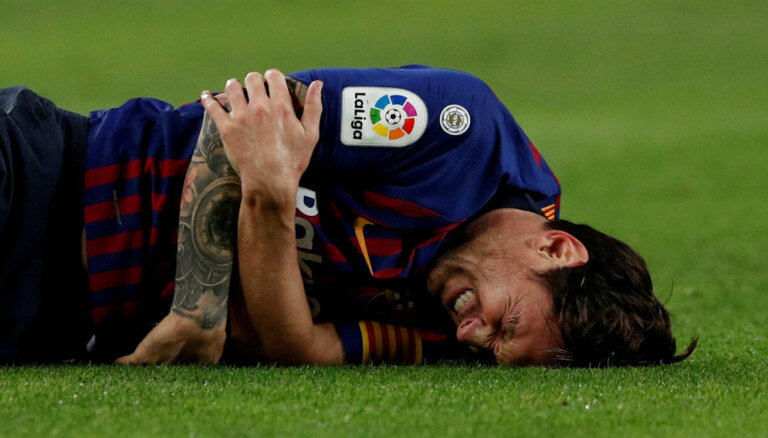 Mesi ar lauzto roku iekļauts 'FC Barcelona' sastāvā spēlei ar Milānas 'Inter'