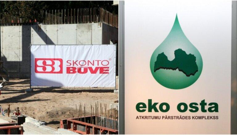 Noraidīta 'Eko ostas' prasība par divu miljonu eiro piedziņu no 'Skonto būves'