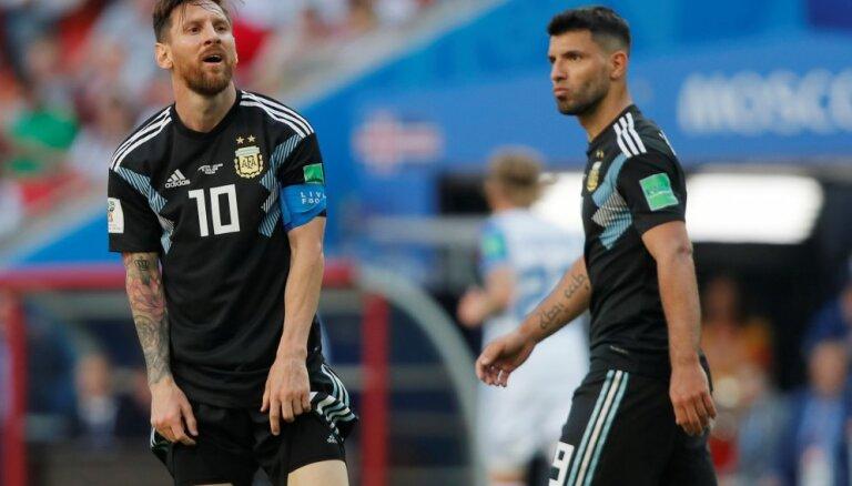 Месси не забил пенальти — Аргентина потеряла очки с Исландией; Хорватия обыграла Нигерию