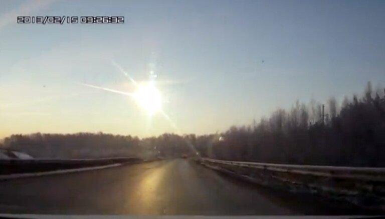 На Урал обрушился метеорит: жителей напугал мощный взрыв в небе