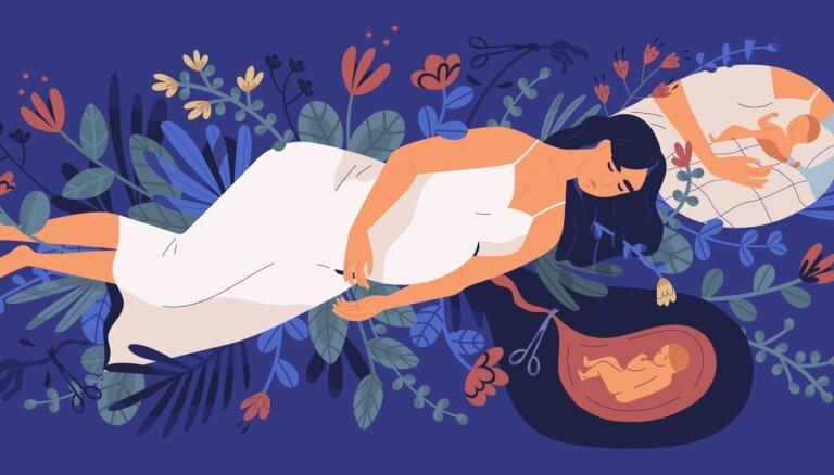 Pērn dzemdībās vai pēc tām mirušas četras sievietes; arī jaundzimušo mirstība joprojām augsta