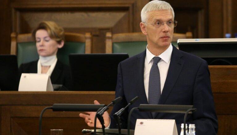 Kariņš: valdības rīcības plānam nepieciešams miljards eiro, kura pagaidām nav