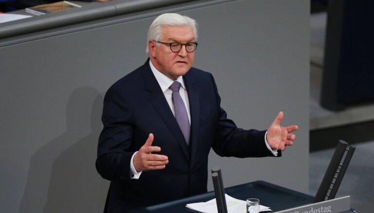 Vācijas prezidents: Navaļnija indētāji atrodami tikai Krievijā