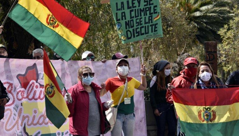 Covid-19: pandēmijas dēļ Bolīvijā jau otro reizi atliktas prezidenta vēlēšanas