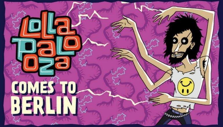 Фестиваль Lollapalooza впервые состоится в Европе