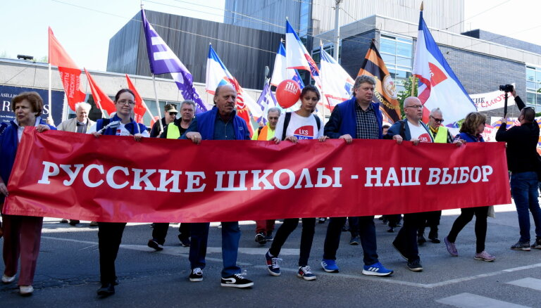 Krievu skolu aizstāvji sola doties jaunā protesta akcijā