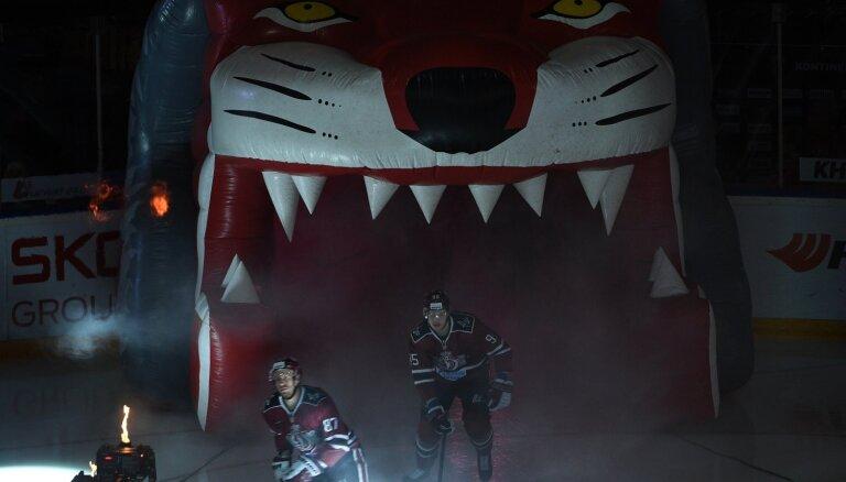 'Dinamo' jūlija izskaņā tiksies ar Tambijevu pārstāvēto VHL čempionvienību