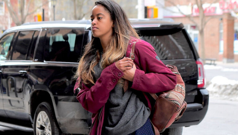 Paparaci cītīgi medī Obamas vecāko meitu