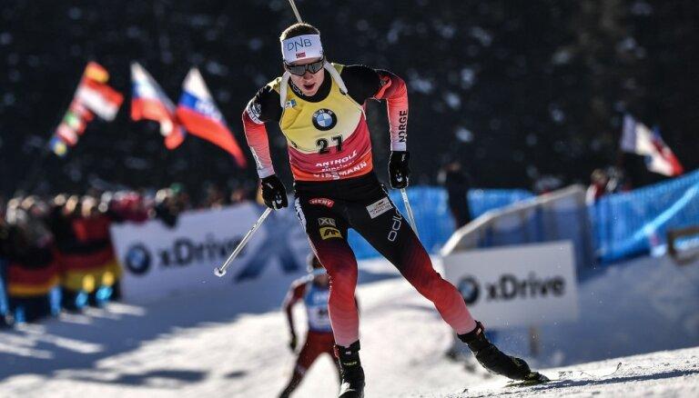 Бе выиграл спринт в Антхольце, Расторгуев — в двадцатке, Логинов провалился
