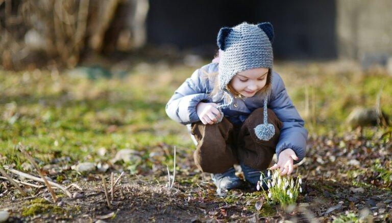 Ticējumi, mīklas un pantiņi par pavasari bērniem