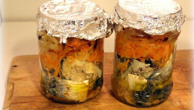 Kā mājās pagatavot savā sulā konservētas zivis