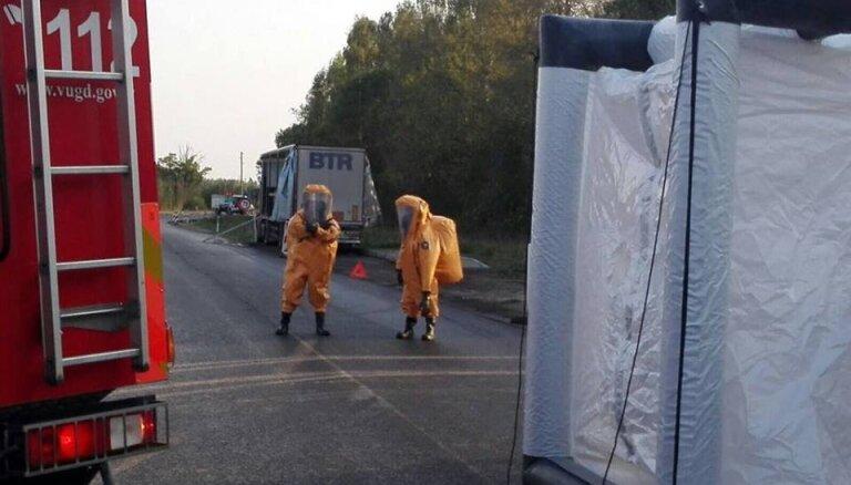 No slāpekļskābes noplūdes skartās apkārtnes evakuētie cilvēki atgriezušies mājās