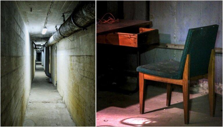 Отголоски Холодной войны: в центре Риги демонтируют секретный железнодорожный бункер