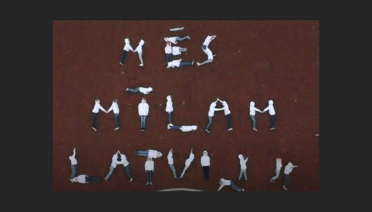 Montesori skoliņa Latviju dzimšanas dienā sveic ar neparastu video