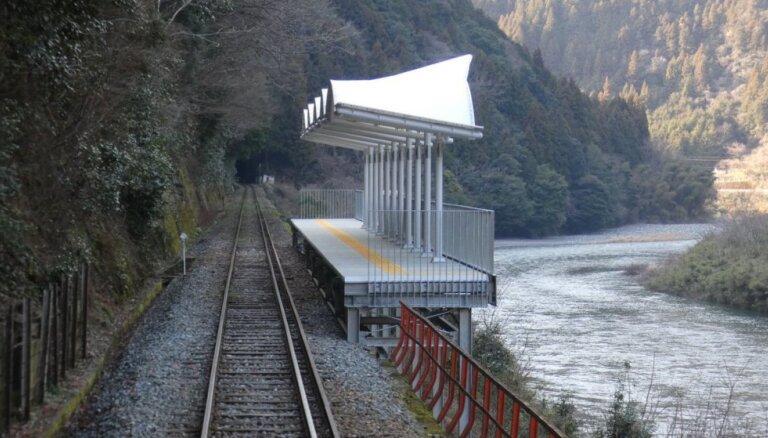 ФОТО. В Японии появилась железнодорожная станция, на которую нельзя ни зайти, ни выйти