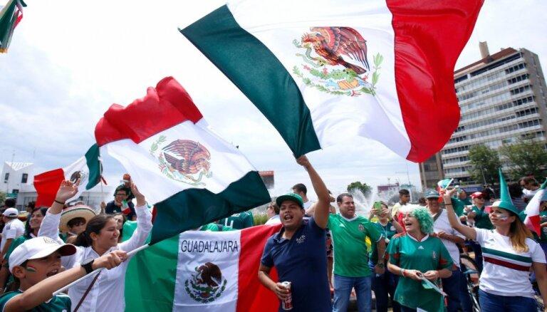 Болельщики сборной Мексики спровоцировали землетрясение после гола в матче с Германией