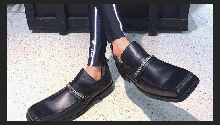 """""""Что за лыжи?"""". Новый тренд мужской обуви — """"уродливые"""" мокасины"""