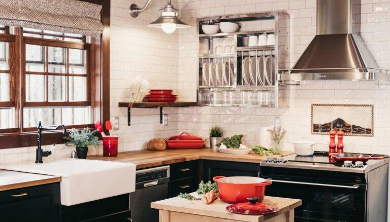 'U' veida vai pie vienas sienas: svarīgi virtuves iekārtošanas aspekti