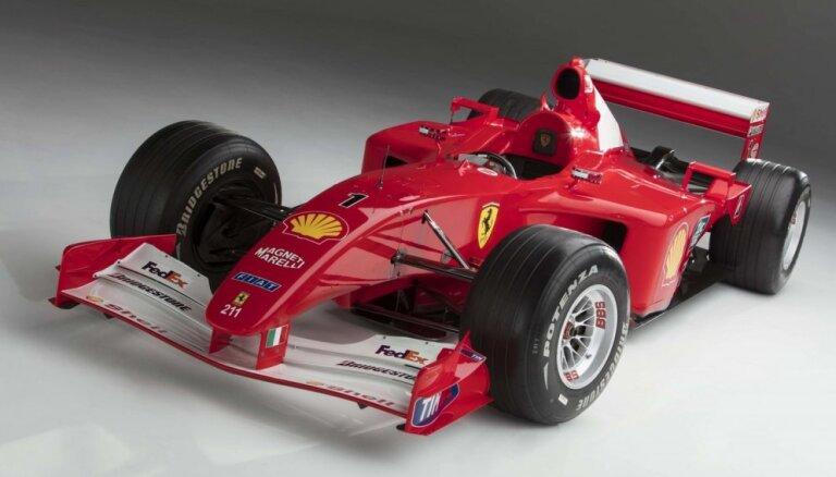 Mihaela Šūmahera 'Ferrari' pārdots izsolē par rekordcenu