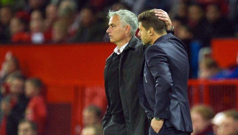 Mourinju nomaina Početino 'Hotspur' galvenā trenera amatā