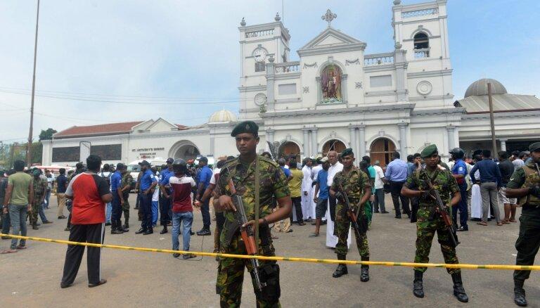 Šrilanka teroraktos bojāgājušo skaitu samazina no 359 līdz 253