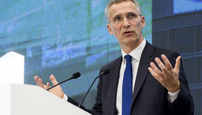 Sarunās par INFT ar Krieviju progress nav panākts, atzīst Stoltenbergs