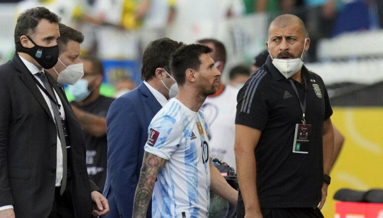 """""""Этот позор видит весь мир"""": Месси в шоке от действий бразильских властей"""