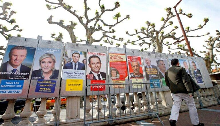 Fakti un lozungi: Kādus cilvēkus francūži bīda uz prezidenta krēslu