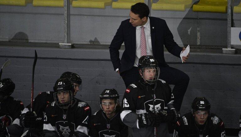 'Rīgas' hokejisti MHL spēlē grauj Pekinas komandu
