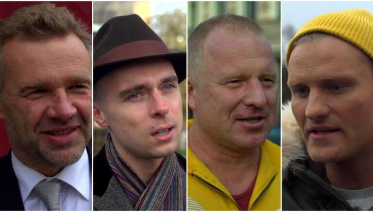 Video: Zeltiņš, Dons, Jānis Zaržeckis un Arnis Bikšus par filmu 'Prāta vētra: Starp krastiem'