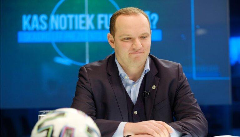 Šī ir patiesi skumja diena visam Latvijas futbolam, sarūgtinājumu neslēpj LFF