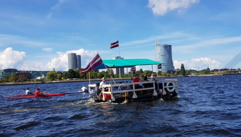 Izstrādās karti Daugavas ūdenstūrisma maršrutam visā upes garumā