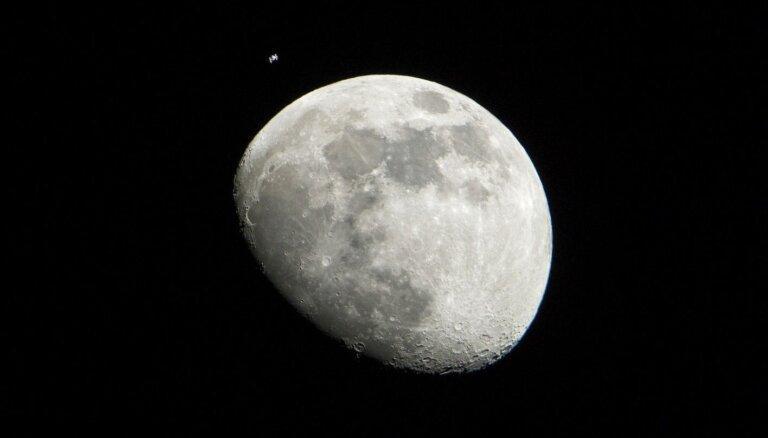 Mēness samazinās, atklāj zinātnieki