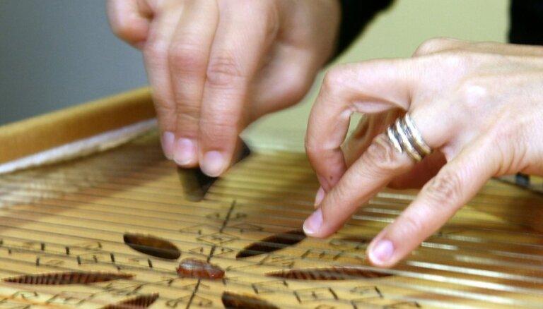 Bērniem piedāvā iepazīt tradicionālus mūzikas instrumentus