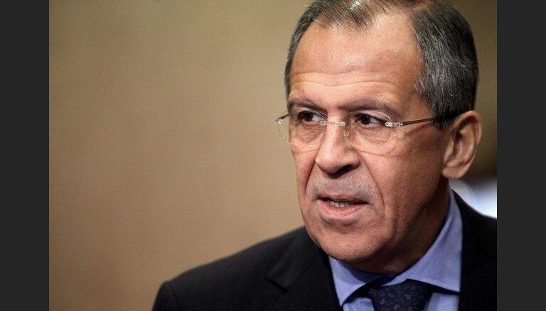 Lavrovs: uz Somijā aizturētā kuģa nebija Krievijas valdības Sīrijai sūtītas kravas
