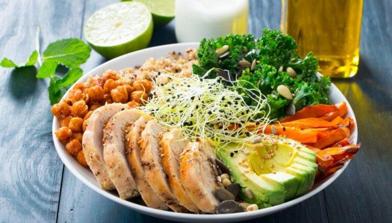 Ēd un tievē – otrā nedēļa: speciālistu ieteikta ēdienkarte svara zaudēšana