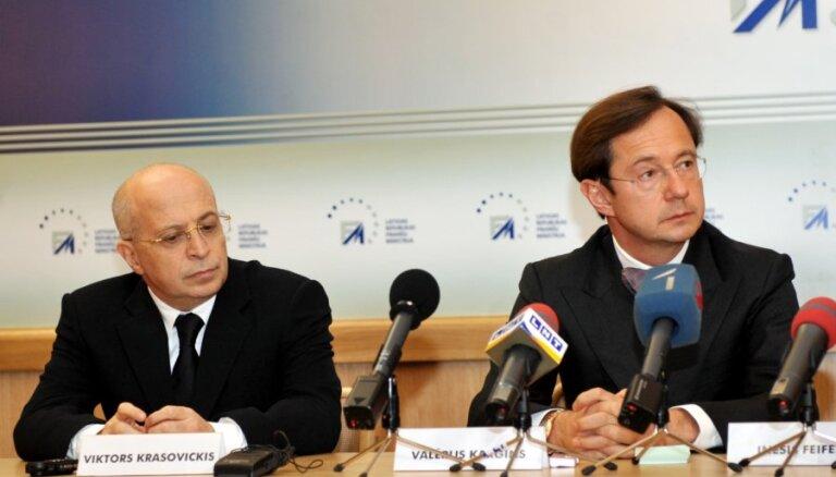 Valsts kasē ieskaita no 'Parex' bosiem attiesātos 4 miljonus eiro
