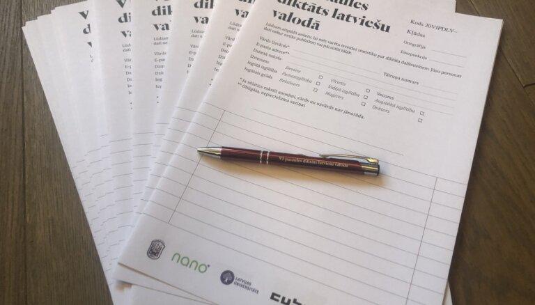 Sesto Pasaules diktātu latviešu valodā rakstījuši 2675 cilvēki
