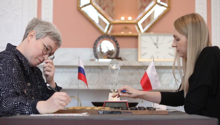 На чемпионате мира по шашкам разгорелся скандал из-за российского флага