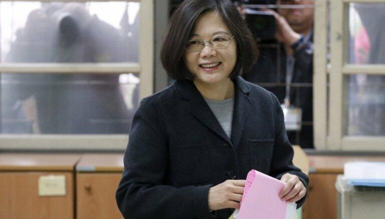 Тайвань выбрал первую женщину-президента