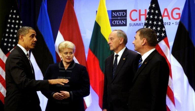 Саммит НАТО: балтийские лидеры сфотографировались с Обамой