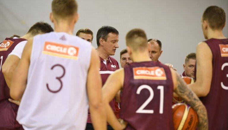 Latvijas basketbola izlasei septembrī paredzēta pārbaudes spēle ar Lietuvu