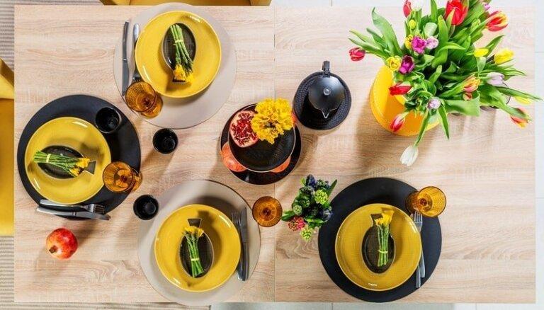 Глоток вдохновения – как латвийские знаменитости декорируют праздничные пасхальные столы