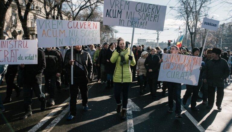 Kišiņevā pret premjera amata kandidātu protestē 10 000